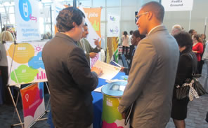 Attendees at the 2013 Career Fair.
